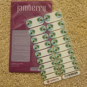 Jamberry Shake Your Tail Feather Nail Wrap